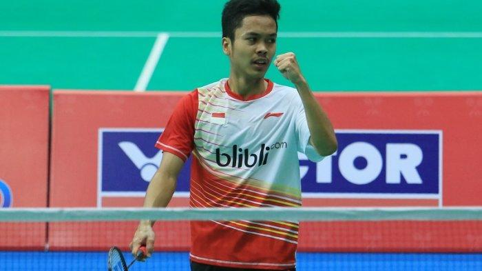 Update BWF World Ranking Pasca Indonesia Masters 2020, Anthony Ginting Melesat Peringkat 5 Dunia