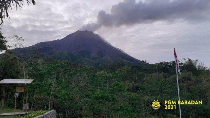 Update Gunung Merapi 15 September 2021, Guguran Lava Pijar Meluncur 10 Kali ke Barat Daya