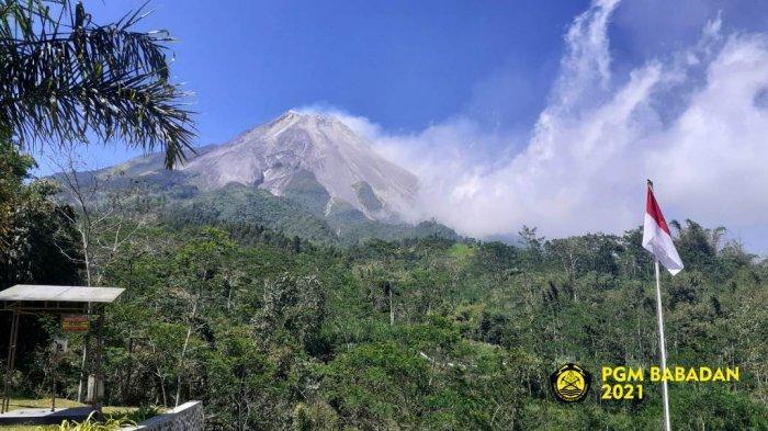 UPDATE Gunung Merapi 28 Juli 2021: Keluarkan 2 Kali Guguran Lava Pijar ke Barat Daya Jarak 1,2 Km