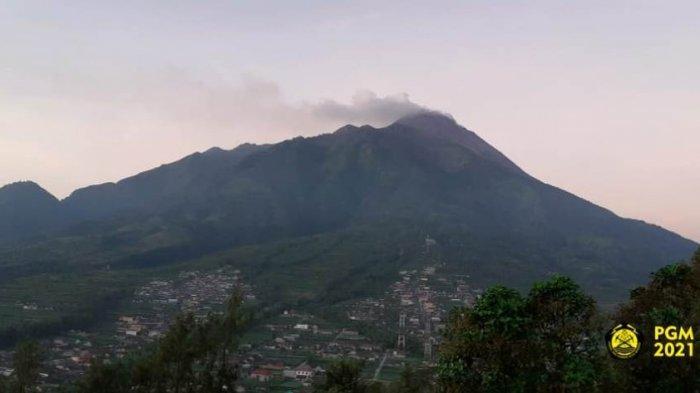 Update Gunung Merapi Kamis 29 April 2021 : 8 Kali Guguran Lava Pijar Berjarak Luncur hingga 1,4 Km