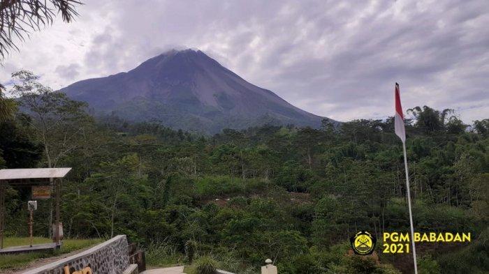 UPDATE Gunung Merapi :Kubah Lava di Tengah Kawah Lebih Besar danMengarah ke Barat