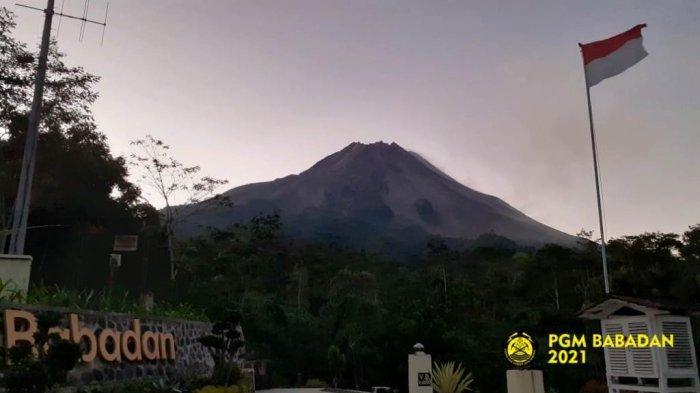 Update Gunung Merapi 20 Juli 2021, Tidak Ada Lontaran Awan Panas dan Lava Pijar Guguran Pagi Ini