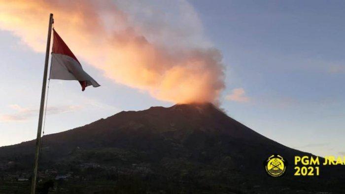 Update Gunung Merapi Pagi Ini Rabu 14 April 2021, Asap Kawah Berintensitas Tebal dan Tinggi 400 M