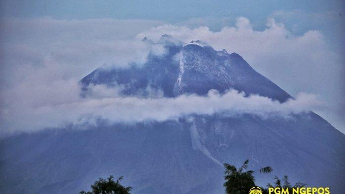 UPDATE Gunung Merapi Pagi Ini Selasa 23 Maret 2021, Guguran Lava Pijar Terjadi 9 Kali