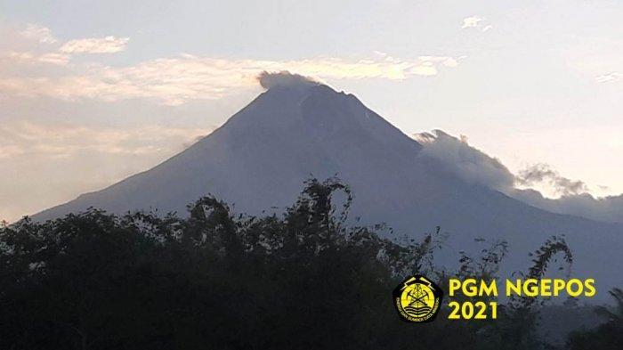 Update Gunung Merapi 14 September 2021, Guguran Lava Pijar Meluncur 11 Kali Pagi Ini