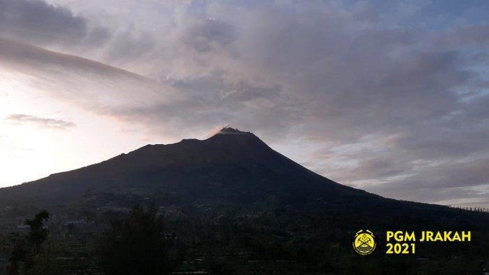 Update Gunung Merapi Sabtu 20 Maret 2021, Aliran Lahar Hujan Gunung Merapi Capai 8 KM dari Puncak