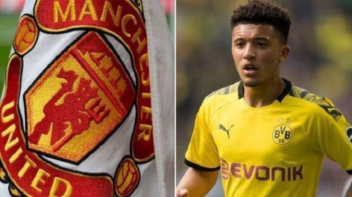 UPDATE Bursa Transfer MU: Jadon Sancho Belum Juga Diperkenalkan Manchester United