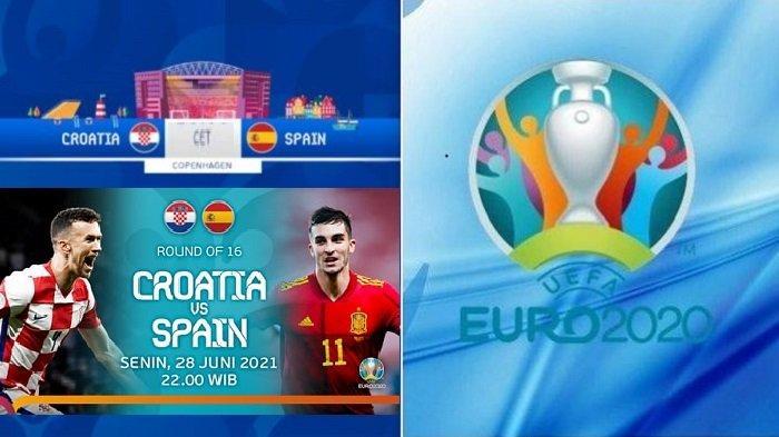 Update Skuad & Prediksi KROASIA vs SPANYOL - LIVE di Channel TV Siaran Langsung EURO Malam Hari Ini