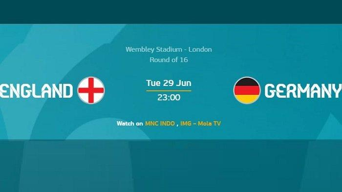 Inggris vs Jerman, EURO 2020