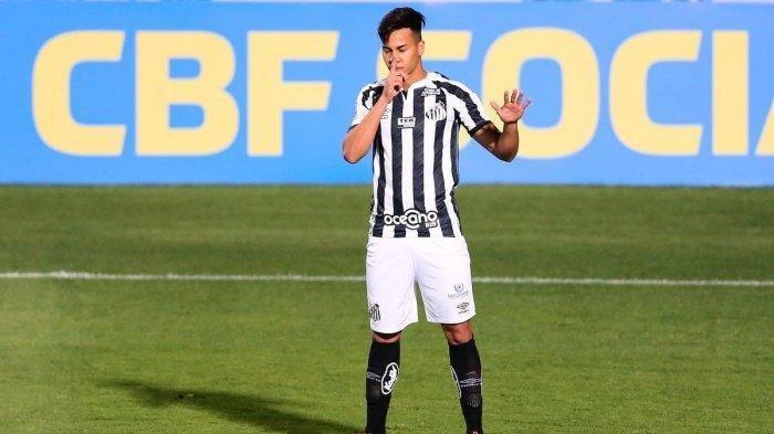 Pemain Santos Kaio Jorge diincar Juventus dan AC Milan
