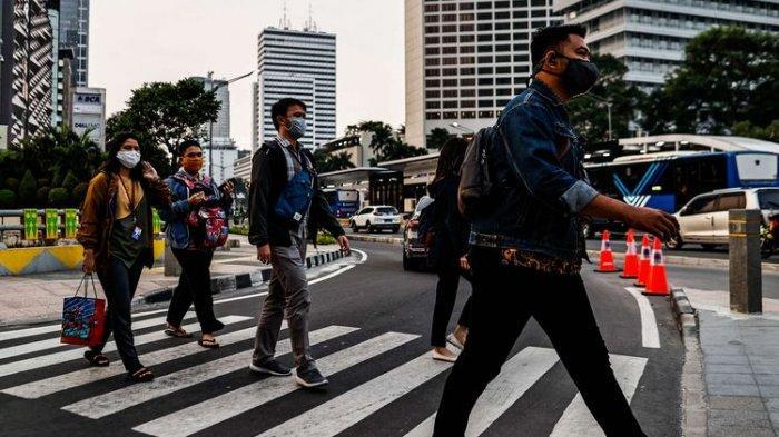 Daftar Wilayah Zona Merah Covid 19 Di Dki Jakarta Kota Bekasi Dan Tangerang Juga Merah Lagi Tribun Jogja