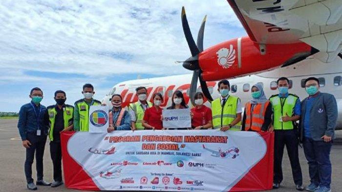 UPH Kampus Surabaya dan Lion Air Group Laksanakan Program Sosial Penyaluran Bantuan di Mamuju