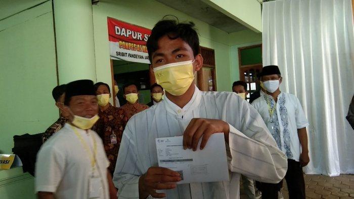 Ratusan Santri di Jatinom Klaten Mulai Disuntik Vaksin Covid-19
