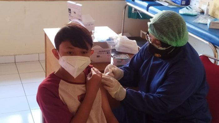 Bantu Percepatan, Polres Kulon Progo Vaksinasi 149 Anak