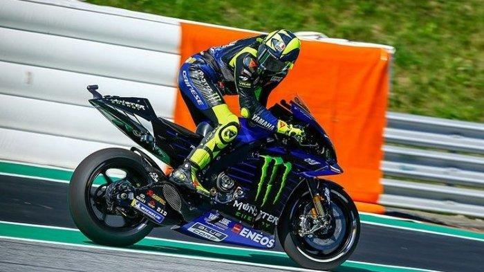Valentino Rossi kembali mengeluhkan performa motor Yamaha YZR-M1 yang ditungganginya