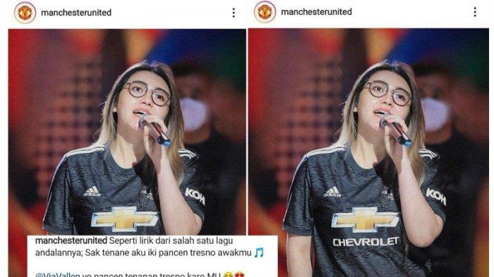 Viral Medsos, MU Unggah Foto Via Vallen di Instagram, Pakai Caption Bahasa Jawa