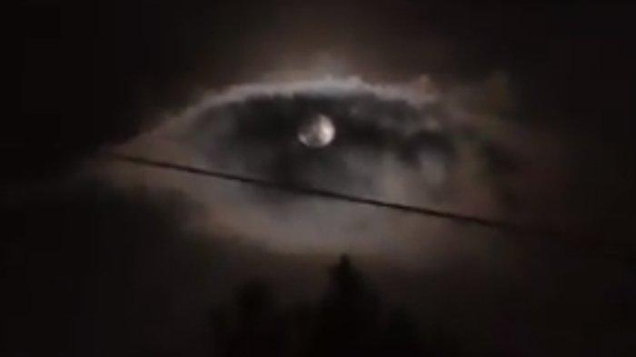 Video Langit Malam Menyerupai Mata di Wilayah Bandung, Lapan Sebut Fenomena Alam Biasa