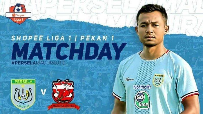 SEDANG BERLANGSUNG Live Streaming Liga 1 2019 Persela Lamongan vs Madura United
