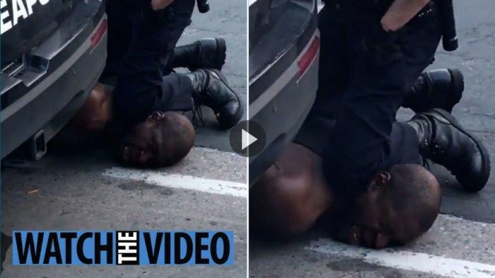 """""""Saya Tidak Bisa Bernapas, Jangan Bunuh Aku,"""" Kata-kata Terakhir Pria Itu Sebelum Tewas oleh Polisi"""