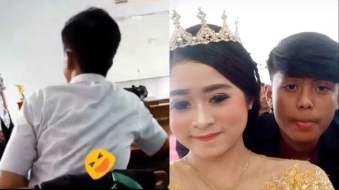 Video Viral Pernikahan Wanita Muda di Sukabumi, Awalnya jadi Musuh, Tapi Akhirnya Menikah