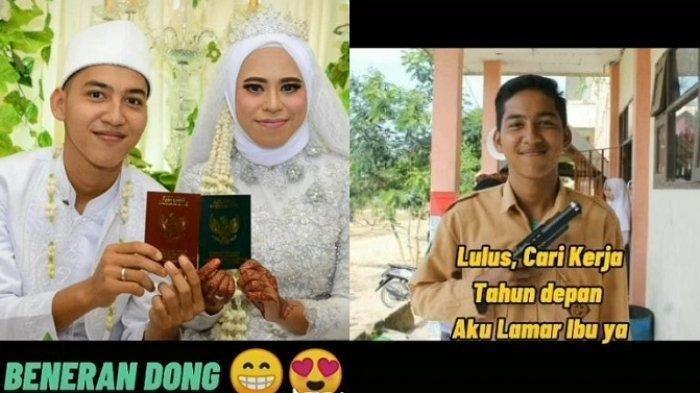 Viral Kisah Cinta Sepasang Suami Istri Asal Kalimantan Timur, Dulu Murid Kini jadi Suami