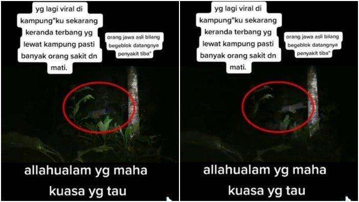 VIRAL Medsos, Lampor atau Keranda Terbang Seram Terlihat di Malang, Pertanda Bahaya?