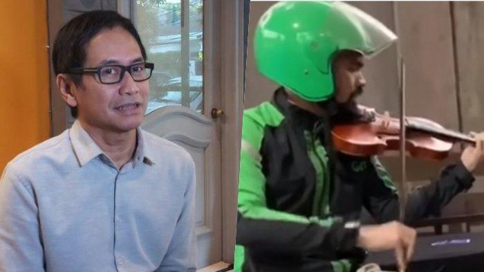 Viral Pengemudi Ojol Jago Main Biola, Mau Diundang Addie MS