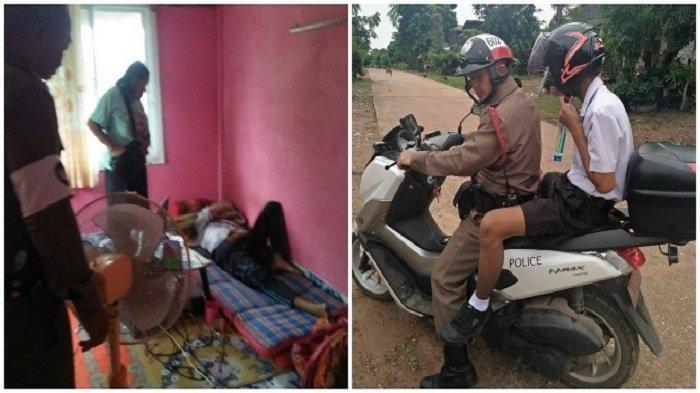 Viral Seorang Nenek Telepon Polisi untuk Menjemput dan Mengantar Cucu yang Tak Mau Ikut Ujian