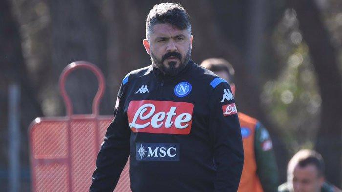 LIGA ITALIA: Napoli Gagal ke Liga Champions Musim Depan, Gattuso Dipecat