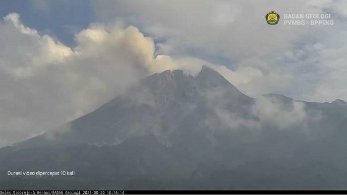 Kabar Terkini Aktifitas Gunung Merapi, Mulai Melandai, Semalam  Tak Ada Lagi Guguran Lava Pijar