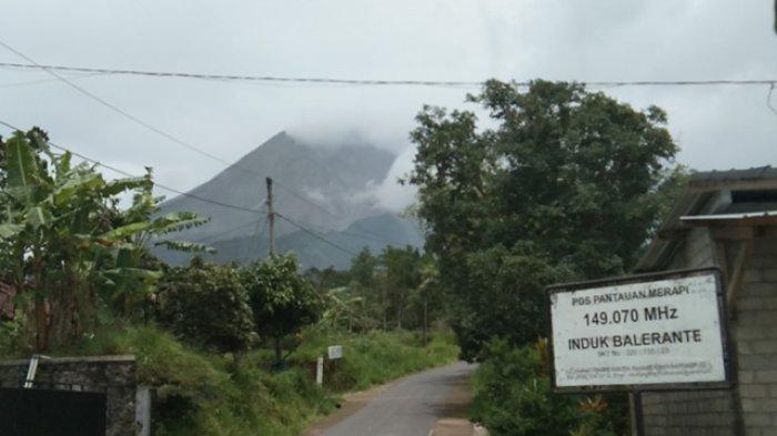 Aktivitas Gunung Merapi Masih Fluktuatif, BPBD Klaten Minta Warga di KRB III Aktifkan Ronda