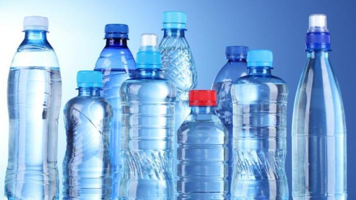 botol dari plastik