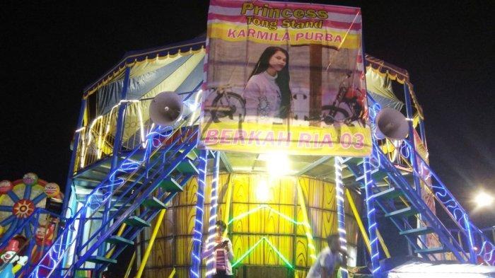 Atraksi Unik di Sekaten, Kamilia Purba Si Ratu Tong Stand