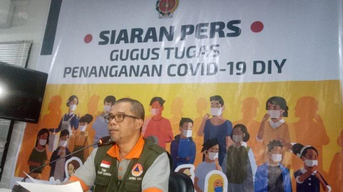 Ilustrasi : Wakil Ketua Sekretariat Gugus Tugas Covid 19 DIY