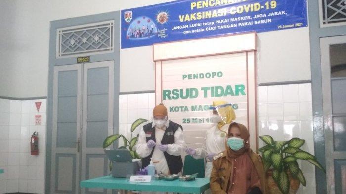 Peringkat Dua Nasional, Vaksinasi Covid-19 di Kota Magelang Capai 89,63 Persen