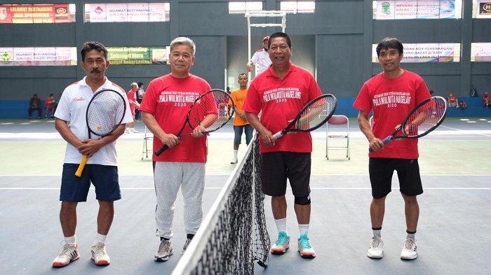 Kejurnas Tenis Wali Kota Magelang Cup 2020, Ajang Sinergi Petenis Veteran