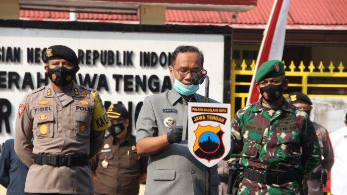 Wali Kota Magelang Pimpin Apel Gelar Pasukan Ops Ketupat Candi 2021