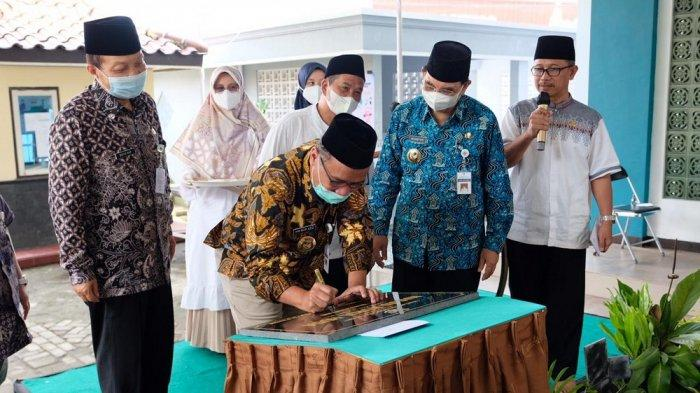 Wali Kota Magelang Resmikan Masjid Nurul Huda SMPN 3 Magelang