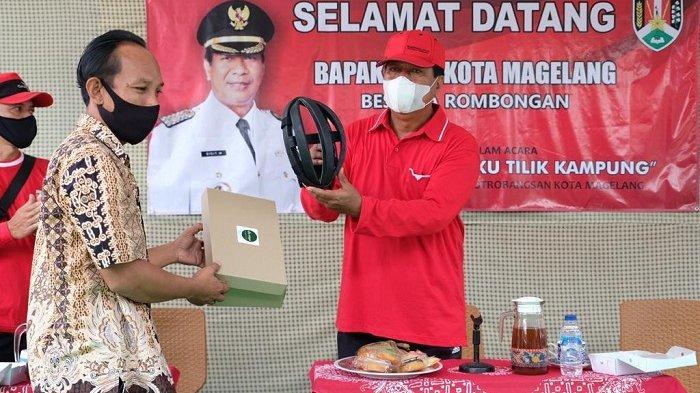 Wali Kota Magelang Puji Bisnis Helm Sepeda Warga Potobangsan di Masa Pandemi