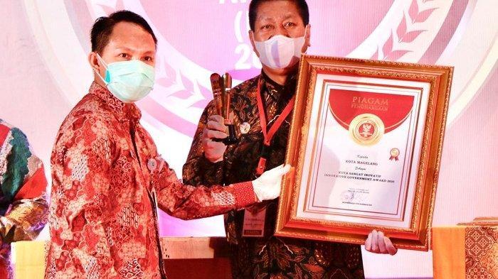 Kota Magelang Kantongi Penghargaan IGA Award 2020, Wali Kota Sigit Janji Akan Terus Berinovasi