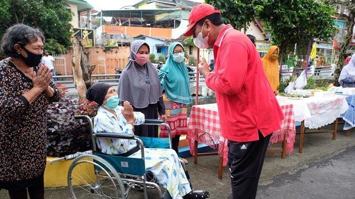 "Wali Kota Magelang ""Mlaku-mlaku Tilik Kampung"" Beri Semangat Masyarakat Agar Tetap Kreatif"