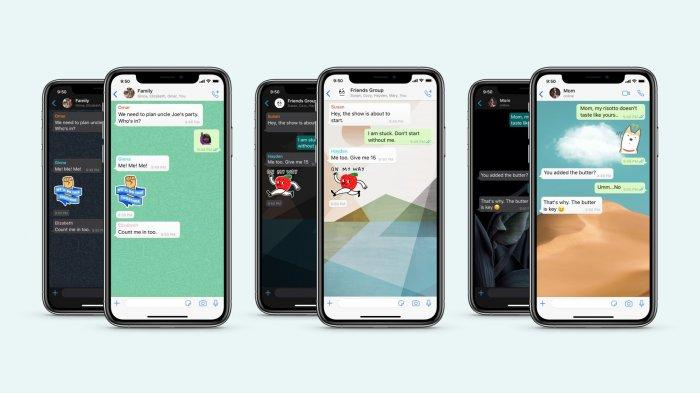 Fitur Terbaru WhatsApp, Bikin Layar Chat Pribadi dan Grup Makin Beragam