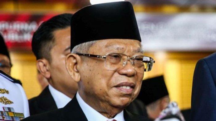 Soal Rangkap Jabatan Ketua KPK, Wapres Ma'ruf Amin Minta Sesuai dengan UU KPK