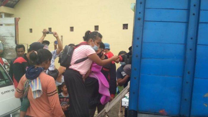 Rindu Rumah, Ratusan Pengungsi Gunung Merapi Asal Desa Krinjing Kabupaten Magelang Pulang