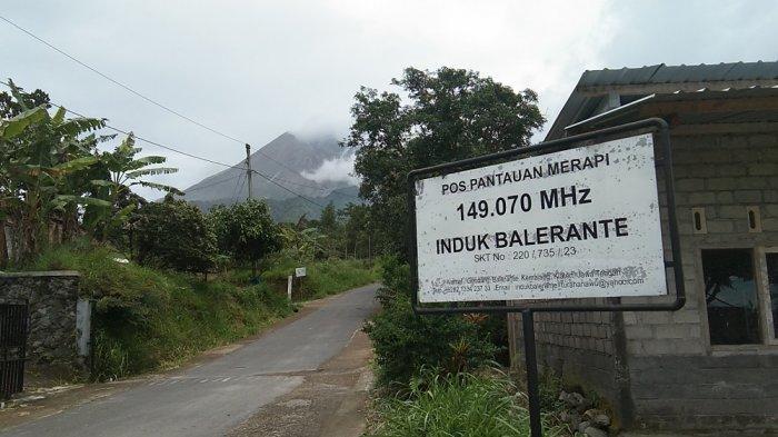 Warga KRB III Gunung Merapi di Klaten Aktifkan Ronda untuk Pantau Aktivitas Gunung