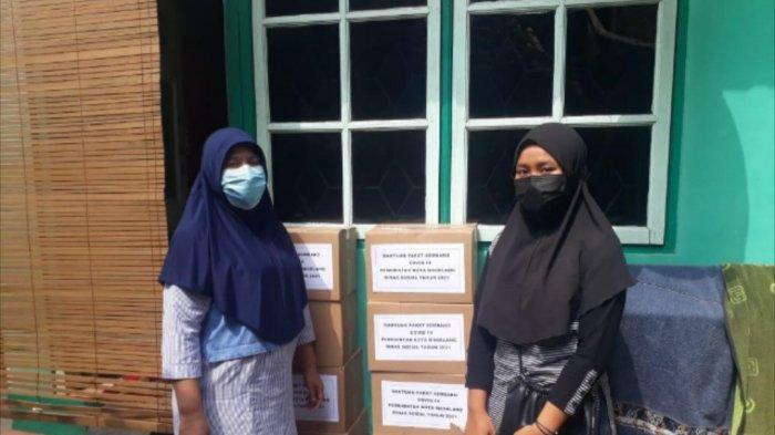 Pemkot Magelang Salurkan Bantuan Pangan untuk Warganya yang Isolasi Mandiri