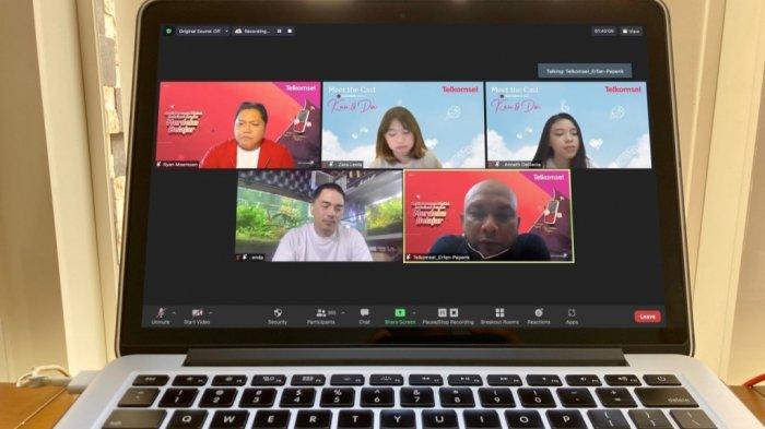 Webinar Digital Telkomsel, Dorong Pengajar dan Pelajar Kembangkan Potensi Diri Jadi Influencer