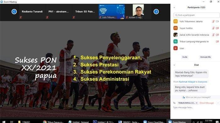 Ridwan Rumasukun, Papua Siap Gelar PON XX Papua