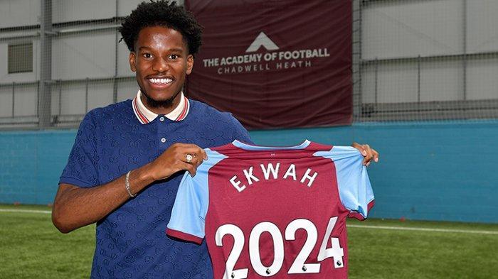 West Ham United mengumumkan pemain baru Pierre Ekwah Elimby dari Chelsea