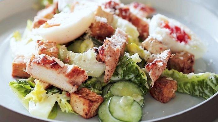 Resep Caesar Salad Tahu Tempe, Cocok Disantap Usai Idul Adha
